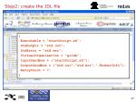 step2 create the jdl file