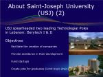 about saint joseph university usj 2