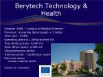 berytech technology health
