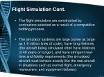 flight simulation cont2
