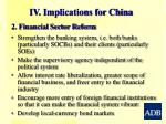 iv implications for china1