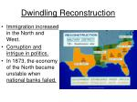dwindling reconstruction