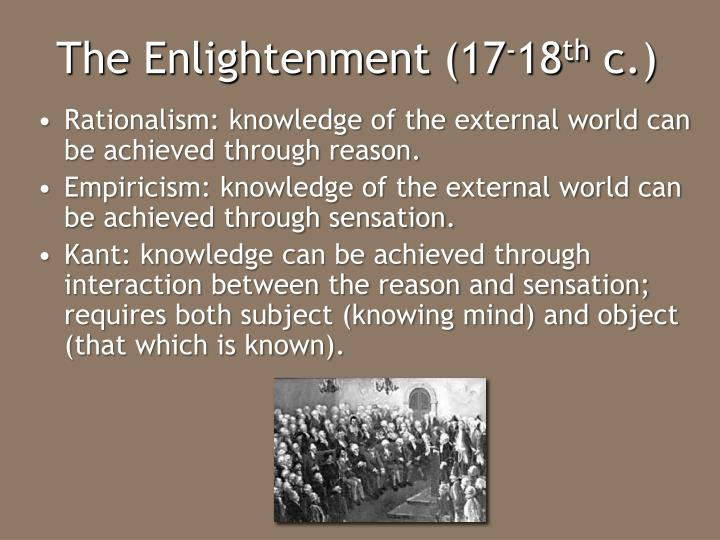 human enlightenment a comparison of kant This article turns to early modern and enlightenment advocates of tolerance   ceptance of the irreducible differences between self-contained human beings.