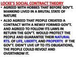 locke s social contract theory