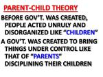 parent child theory
