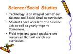 science social studies