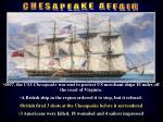 chesapeake affair