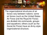 hierarchy of air forces