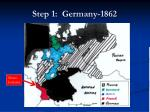 step 1 germany 1862