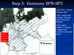 step 3 germany 1870 1871