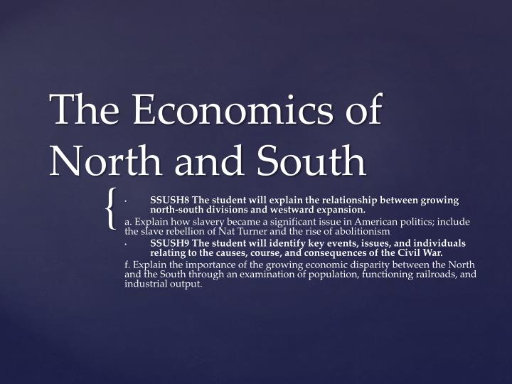 the economics of north and south n.