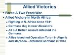 allied victories