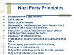 nazi party principles1