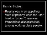 russian society