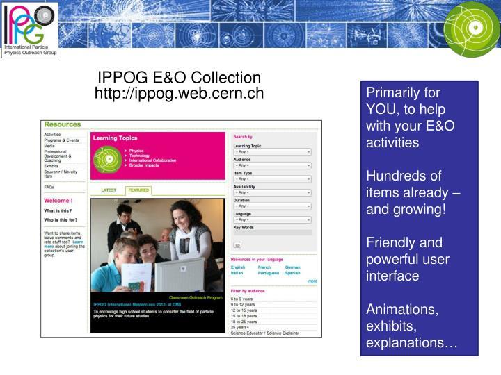 IPPOG E&O Collection