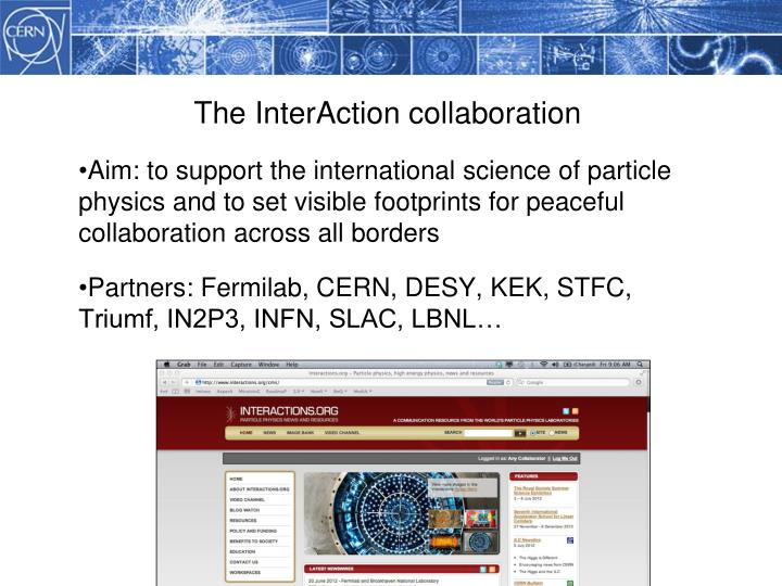The InterAction collaboration