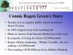 connie ragen green s story