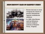 john brown s raid on harper s ferry