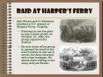 raid at harper s ferry