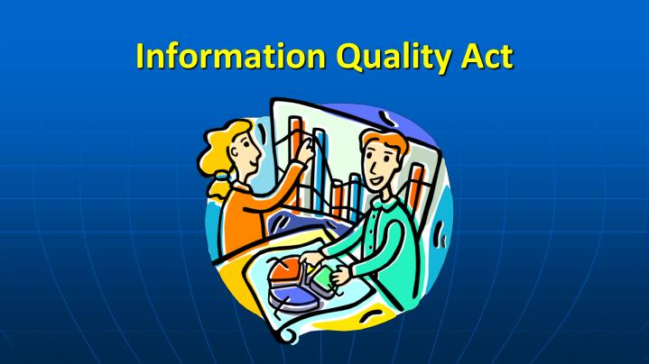 information quality act n.