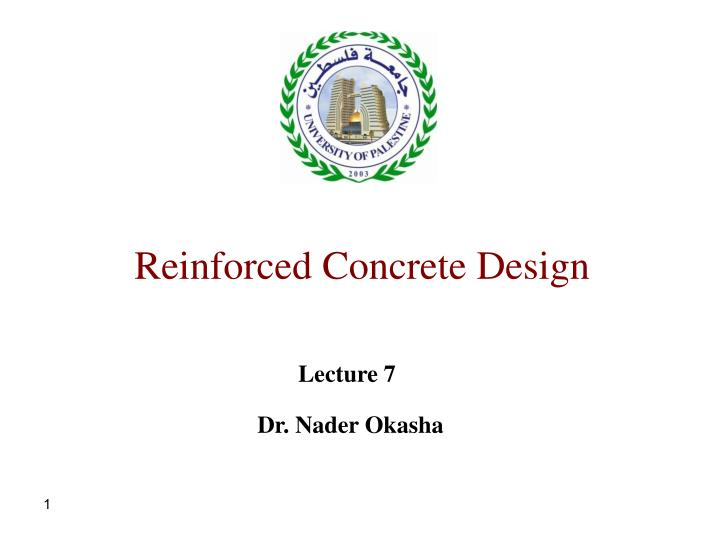 reinforced concrete design n.