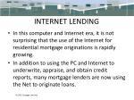 internet lending