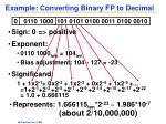 example converting binary fp to decimal1