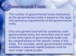 governmental funds1
