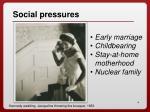 social pressures