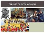 effects of mercantilism
