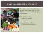 what is a market economy
