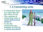 1 3 converting units1