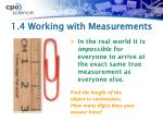 1 4 working with measurements1
