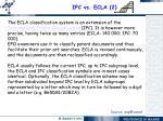 ipc vs ecla 2