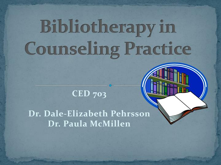 bibliotherapy in counseling practice n.