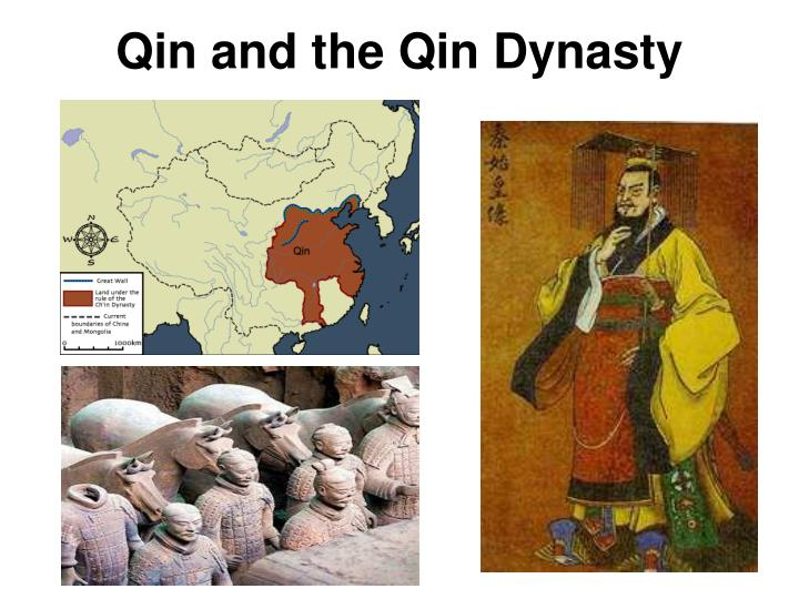 qin and the qin dynasty n.