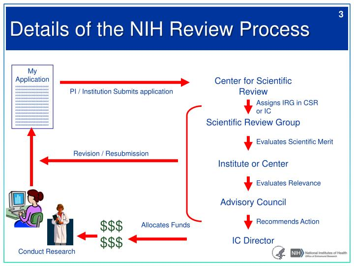 Details of the NIH Review Process