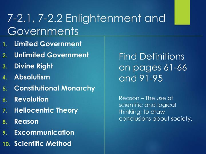7 2 1 7 2 2 enlightenment and governments n.