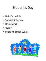student s day