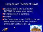 confederate president davis