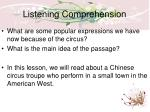 listening comprehension1
