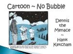 cartoon no bubble