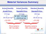 material variances summary1