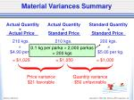 material variances summary2