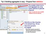 tip 3 building aggregates is easy propose from statistics