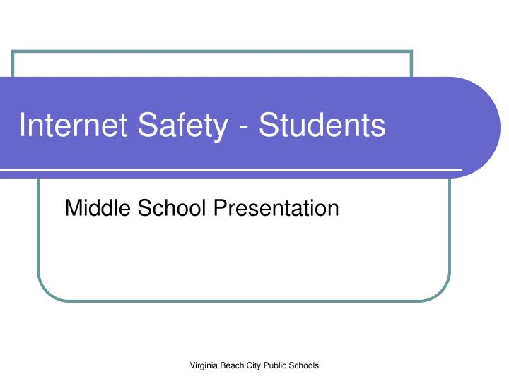 internet safety students n.