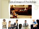 typical images of psychology
