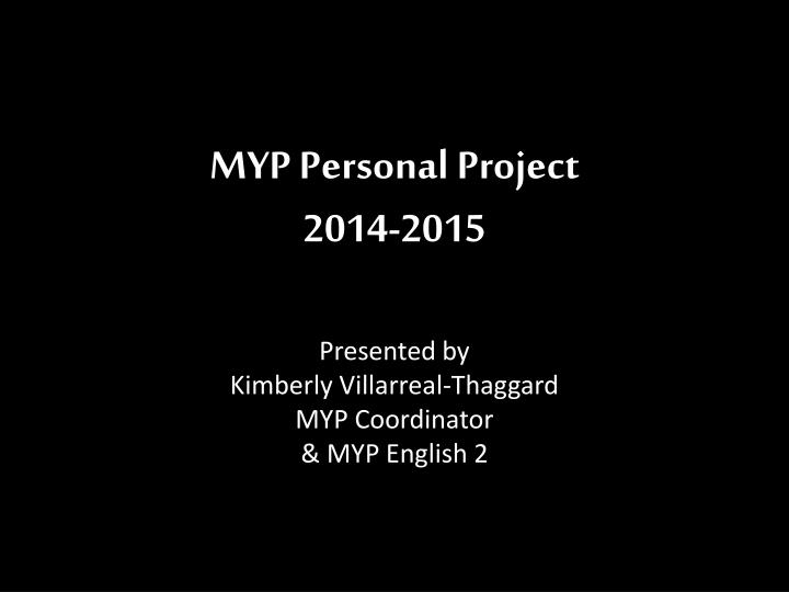 myp personal project 2014 2015 n.