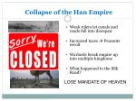 collapse of the han empire