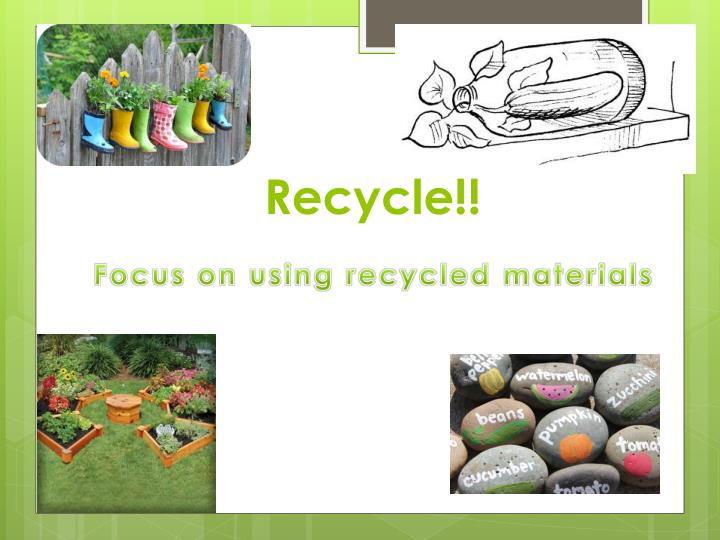 Recycle!!
